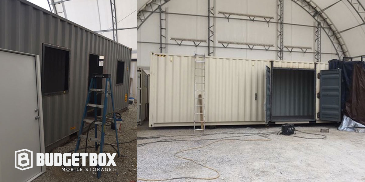 custom modification container
