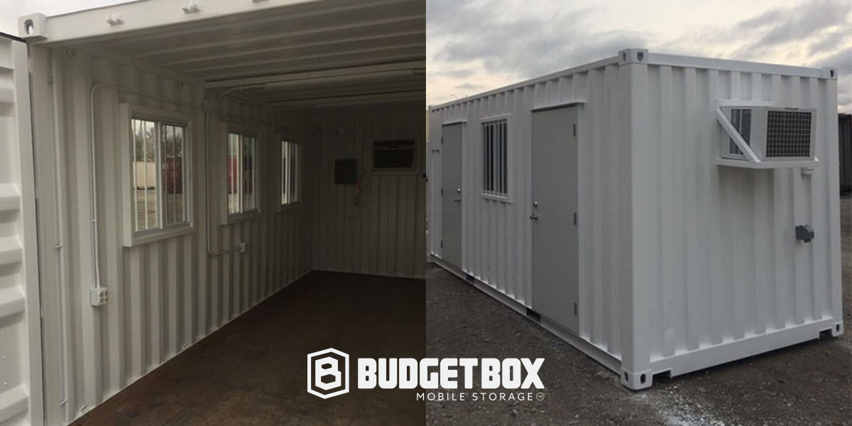 custom office container